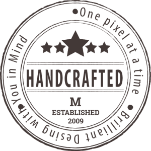 Handcrafted Stamp